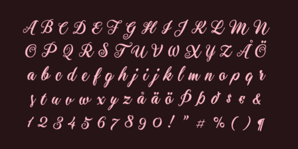 284053 580x290 - Font dňa – Aster Script