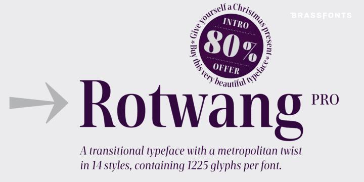 285074 - Font dňa – BF Rotwang Pro