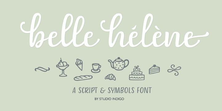 286383 - Font dňa – Belle Helene