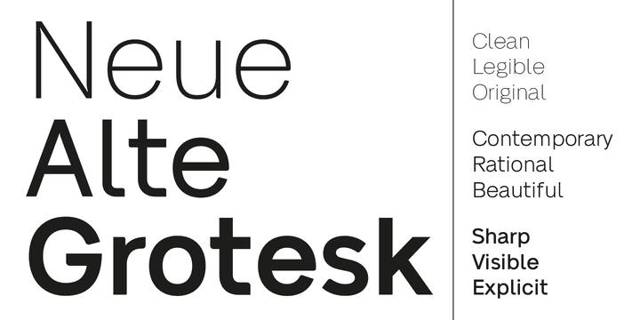 286596 - Font dňa – Neue Alte Grotesk