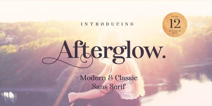 288625 - Font dňa – Afterglow