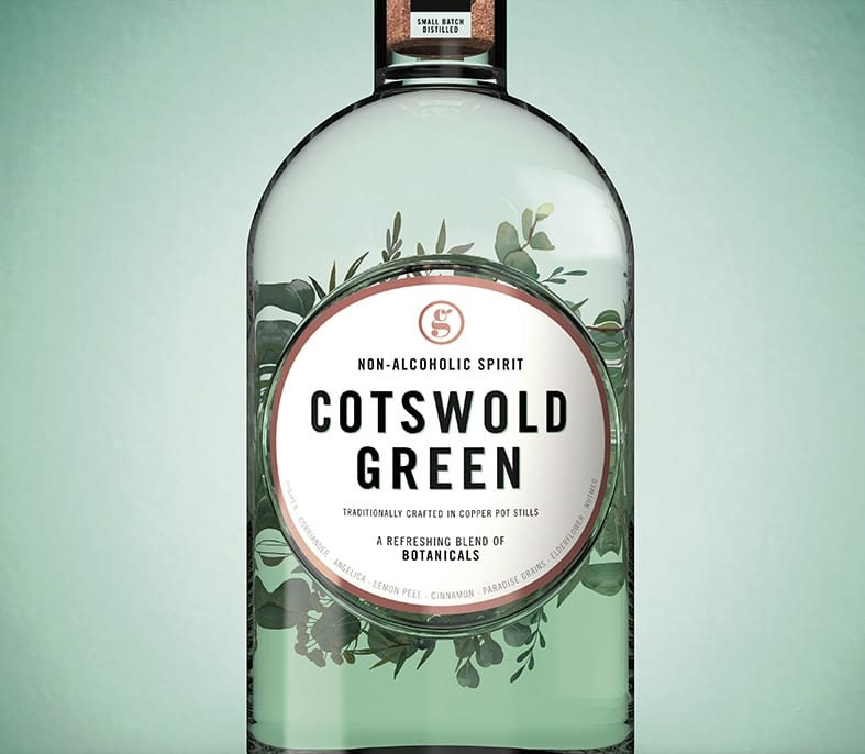 COTSWOLD GREEN TWO BOTTLES RGB04 - Cotswold Green koncept