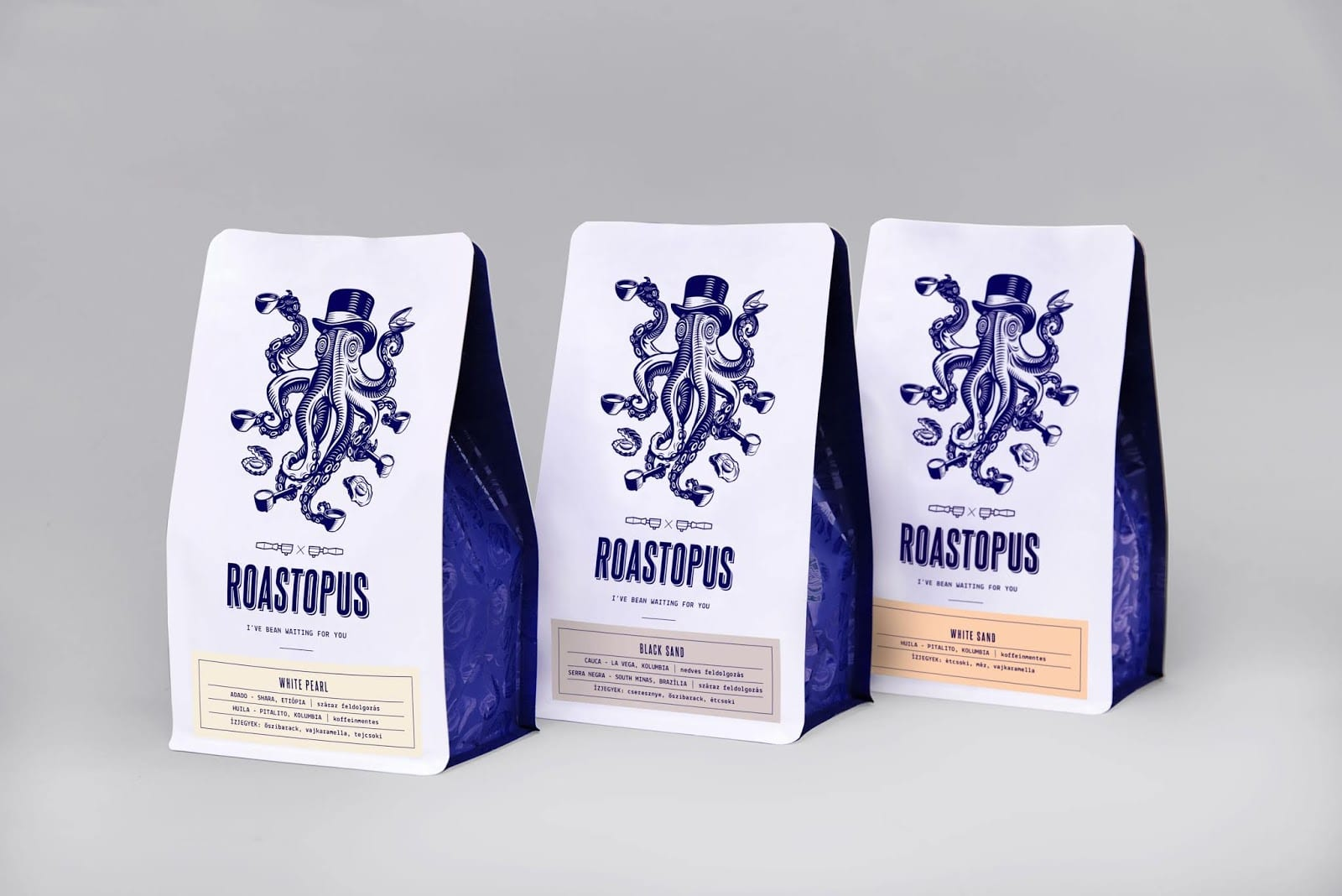 Roastopus 1 1 - Hravá identita Roastopus Coffee Roastery