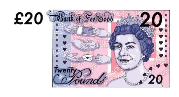 aking2 580x316 - Osviežujúce ilustrácie dávajú britským bankovkám nový dych