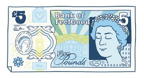 blease2 580x314 - Osviežujúce ilustrácie dávajú britským bankovkám nový dych