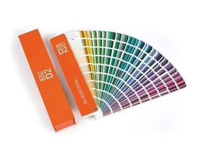ral design system plus d2 ies5780412 - 200 nových odstínů RAL Design