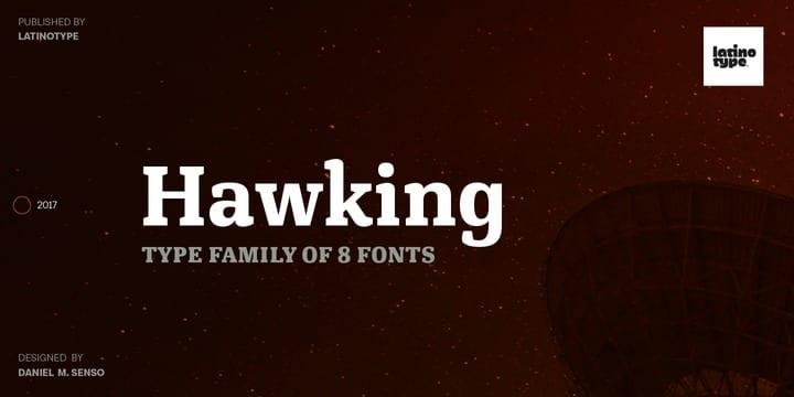 238397 - Font dňa – Hawking