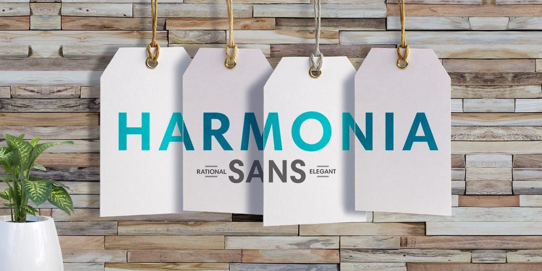 273024 - Font dňa – Harmonia Sans