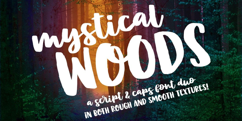 291957 - Font dňa – Mystical Woods