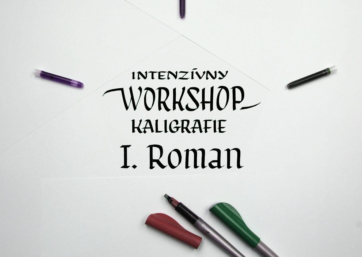 52569203 10157125209274697 6240196368481124352 o - Intenzívny workshop kaligrafie I.  – Ploché pierko – Roman (základné písmo)