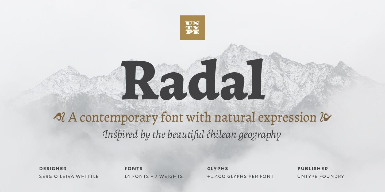 288528 - Font dňa – Radal