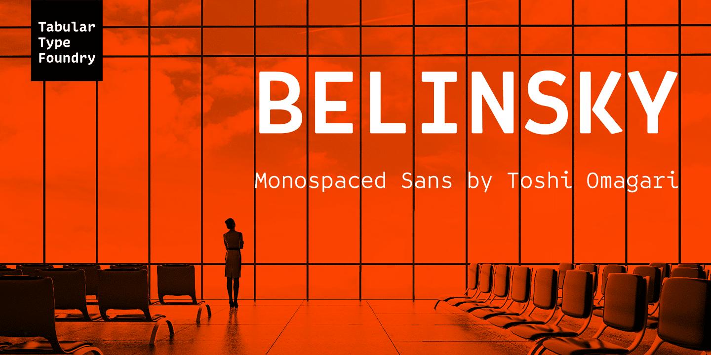 297267 - Font dňa – Belinsky
