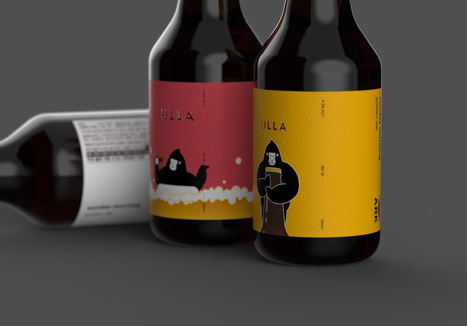 ark 9 - Ach, tie obaly – ULLA X ARK Beer