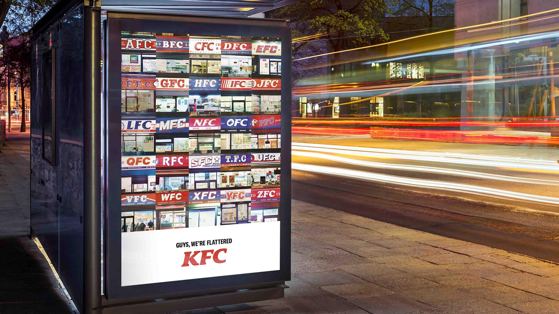 kfc a z 1920 - KFC vnové kampani děkuje svým imitátorům od AFC až po ZFC
