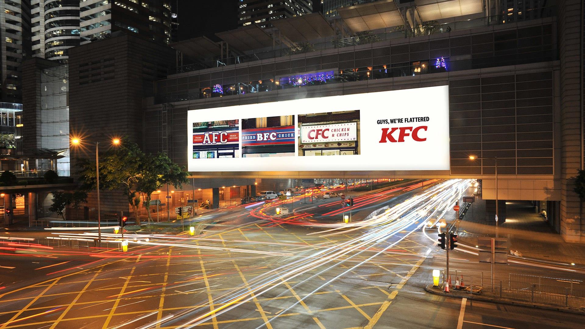 kfc web 2 - KFC vnové kampani děkuje svým imitátorům od AFC až po ZFC