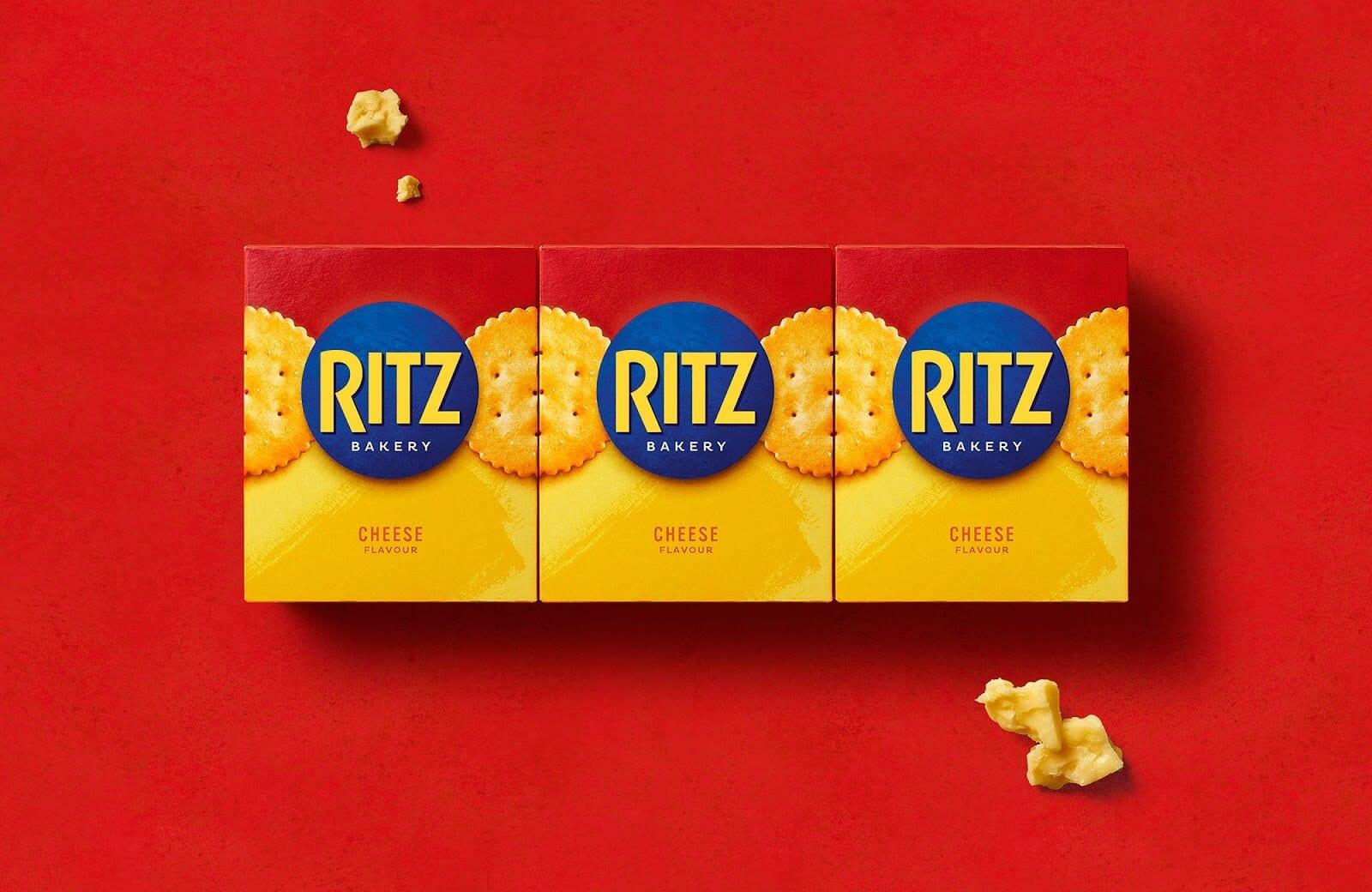 ritz family pr page 3 lowres - Nový redesign krekrů Ritz