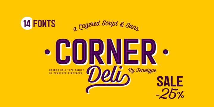 284159 - Font dňa – Corner Deli