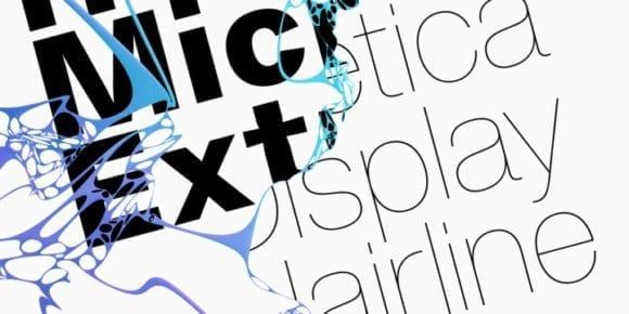 299024 580x290 - Font dňa – Helvetica Now