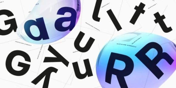 299028 580x290 - Font dňa – Helvetica Now