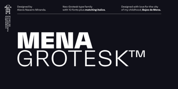 299720 580x290 - Font dňa – Mena Grotesk