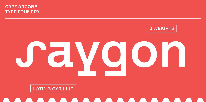 300035 - Font dňa – CA Saygon