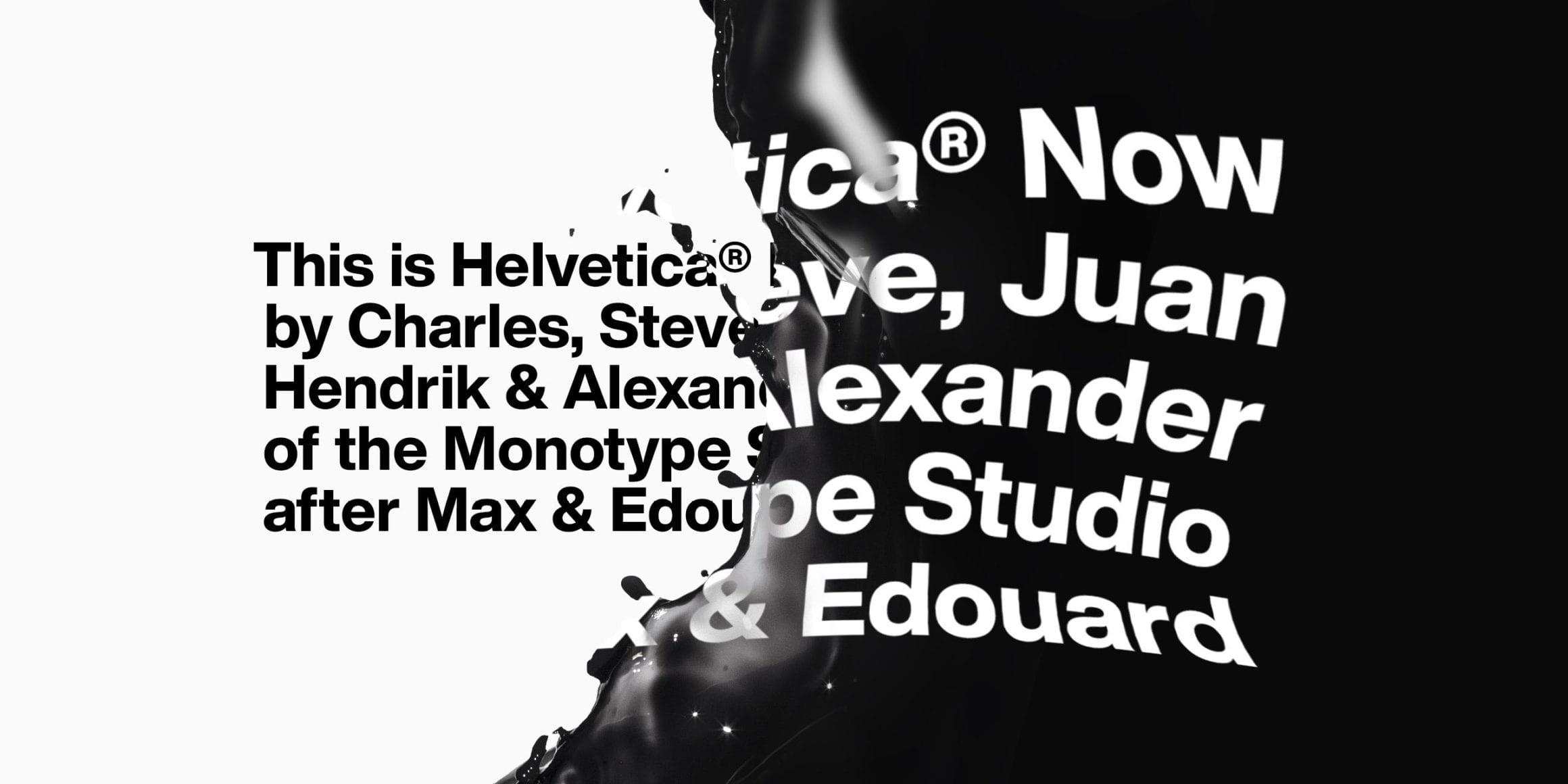 cover 2 - Helvetica teraz: Monotype predstavuje revíziu ikonického písma