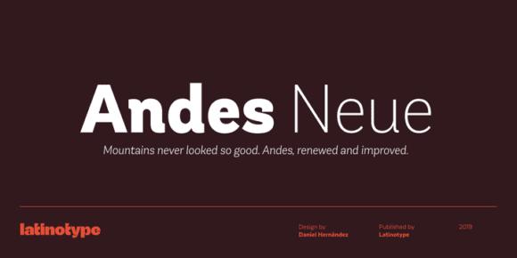 304190 580x290 - Font dňa – Andes Neue