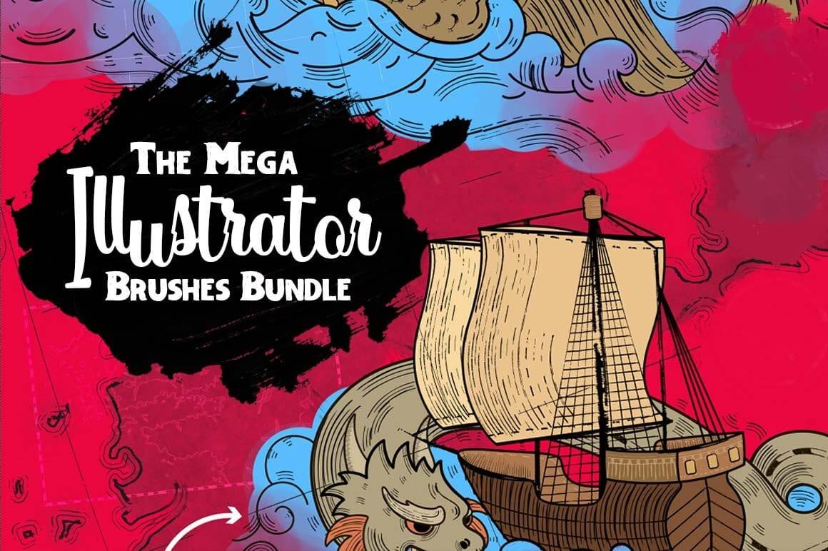 cover - Stiahnite si 3 200 brushov za 26 dolárov!