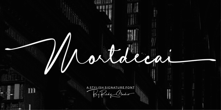 306349 - Font dňa – Mortdecai Script
