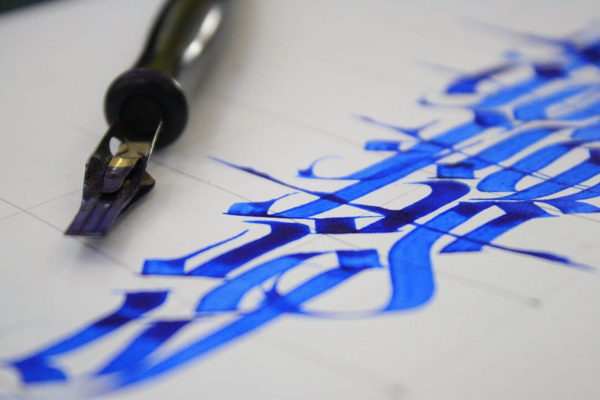 fotokali - Kurz kaligrafia – základy v Ateliéri Amulet