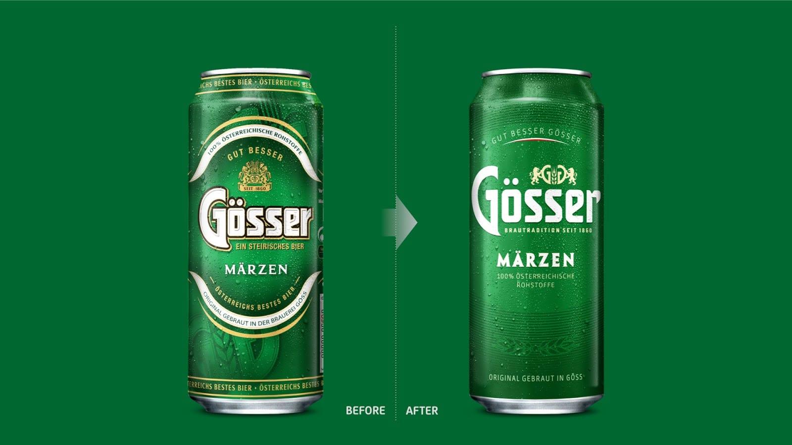 gosser 03 evolution - Vizuální redesign rakouské značky Gösser
