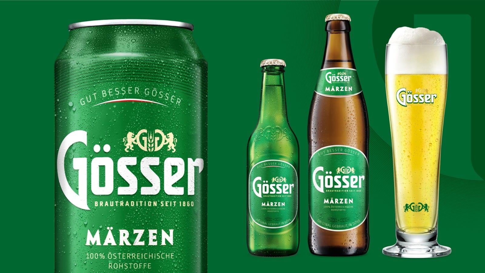 gosser 04 newcorelineup - Vizuální redesign rakouské značky Gösser