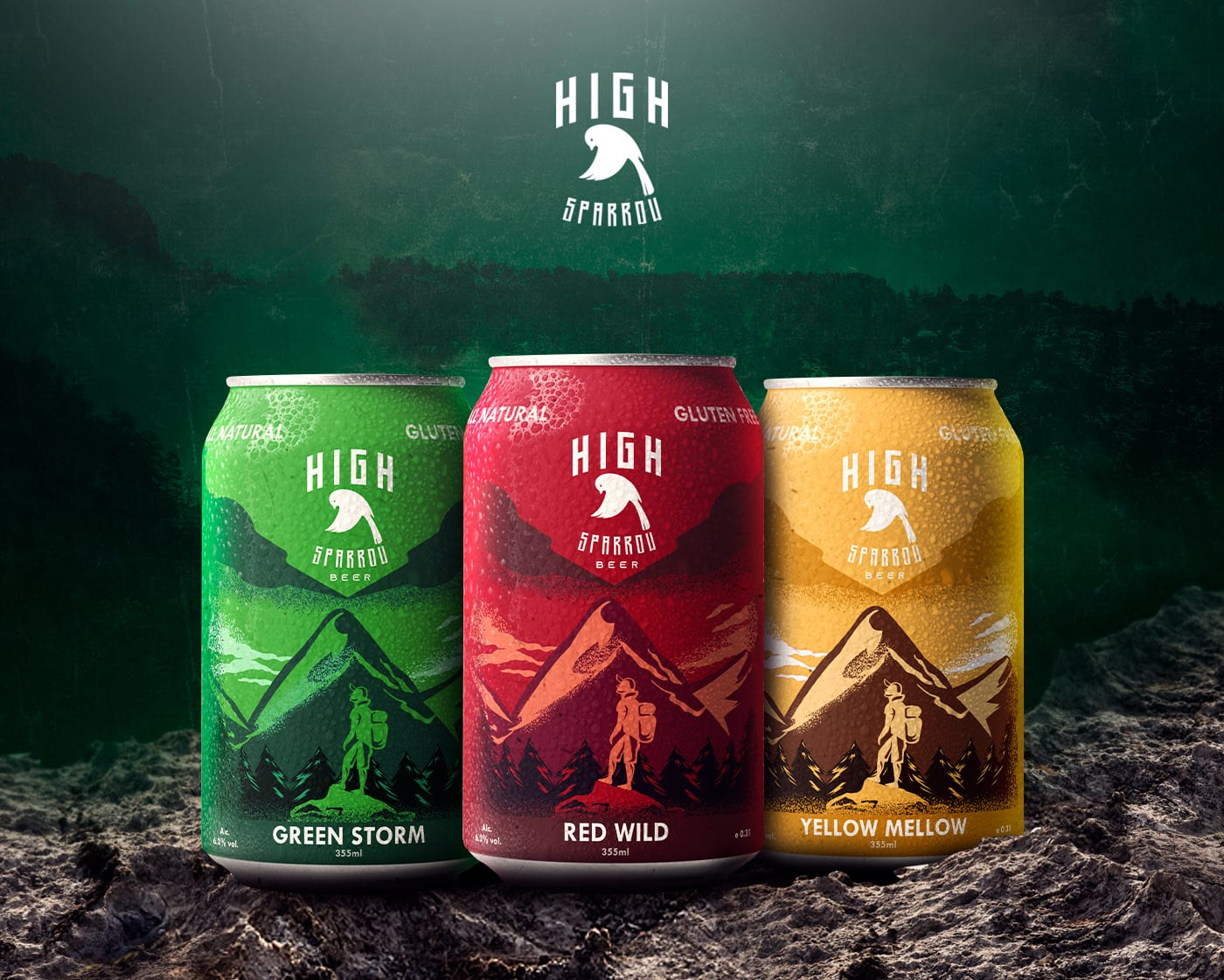 high sparrow 2 - Ach, tie obaly – High Sparrow Beer