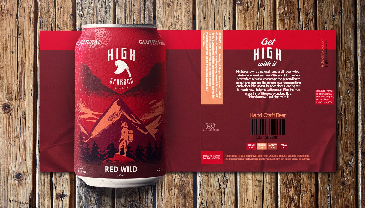 high sparrow 5 - Ach, tie obaly – High Sparrow Beer