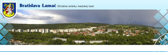 image 580x182 - Mestská časť Bratislava-Lamač hľadá logo