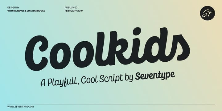 295724 - Font dňa – CoolKids