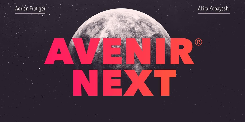 235295 - Font dňa – Avenir Next