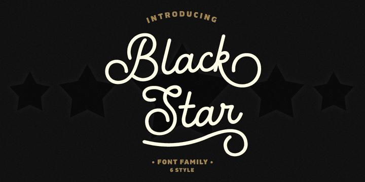 301463 - Font dňa – Black Star