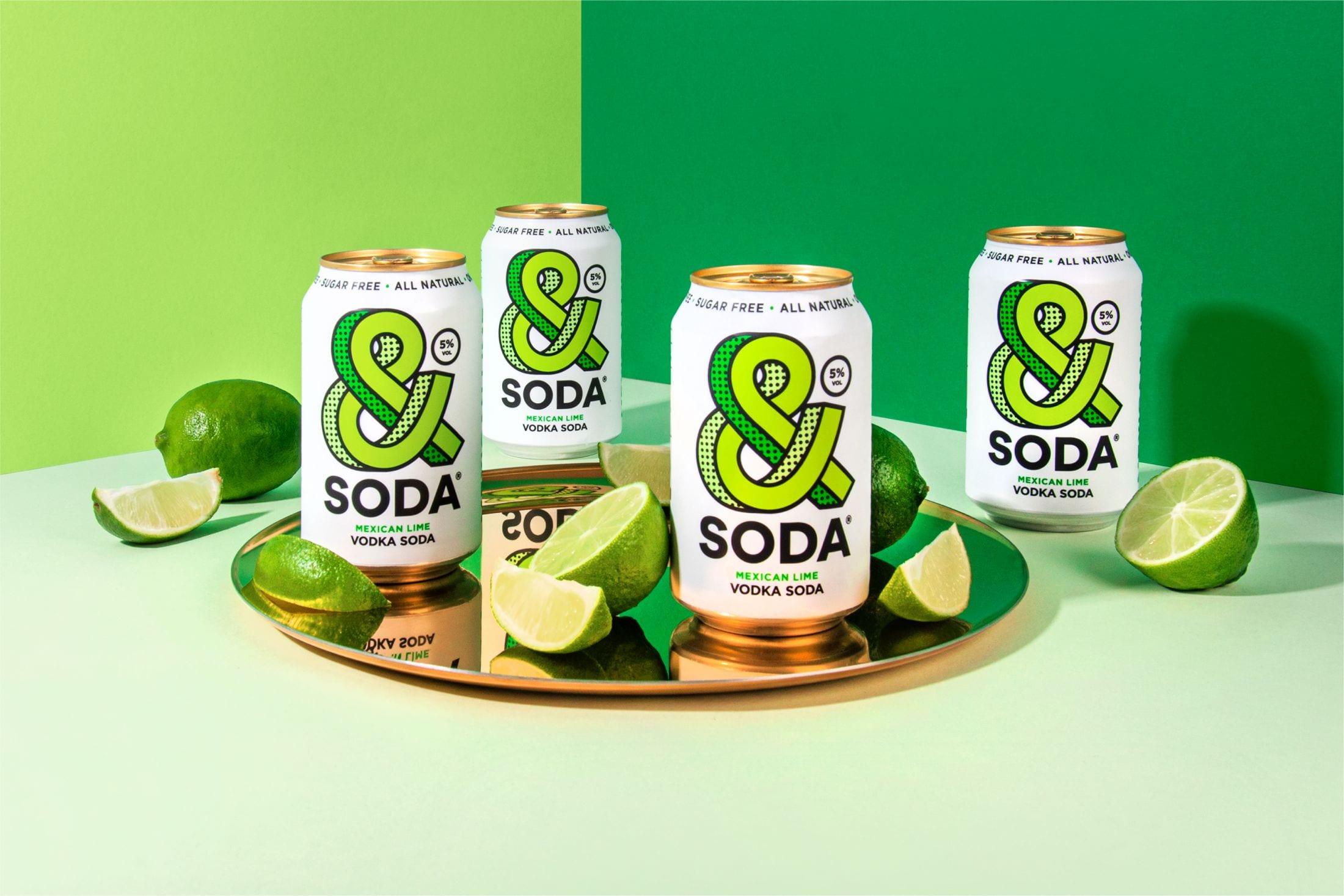"""a6fa8821ca5be8e1e2e402bf3e8e96ec61fe5e11 2200 - Svěží a ovocná identita pro novou alternativu """"čistého pití"""" &Soda od společnosti Analogue"""