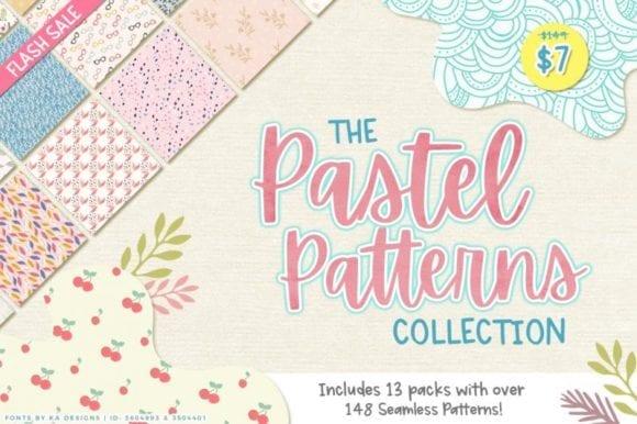 cover 3 580x386 - Stiahnite si pastelové patterny iba za 7 dolárov!