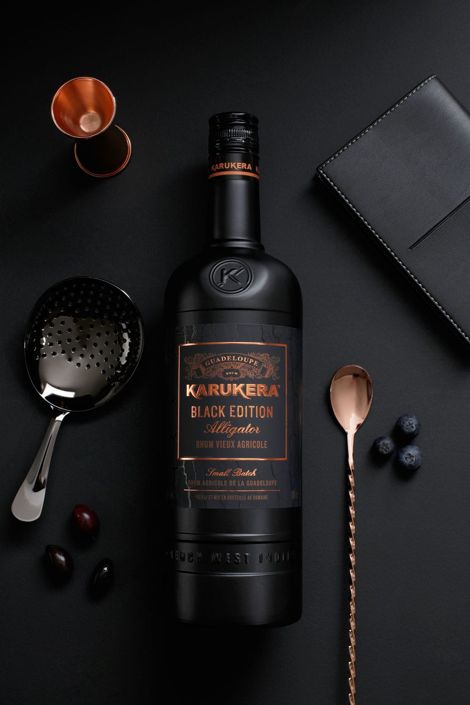 linea karukera blackedition 01 - Limitovaná černá edice rumu Karukera