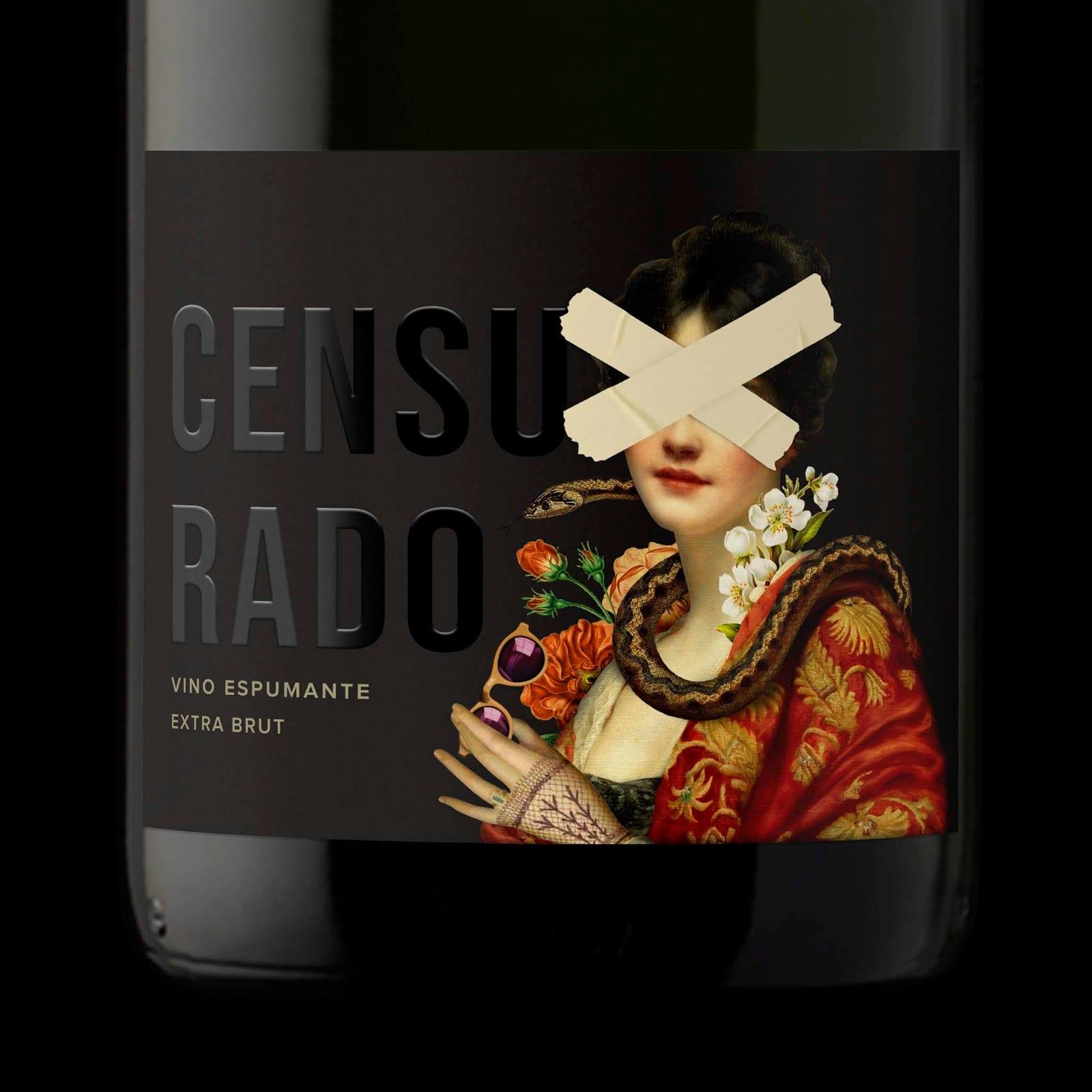 2 censurado big - Ach, tie obaly – Censurado wine