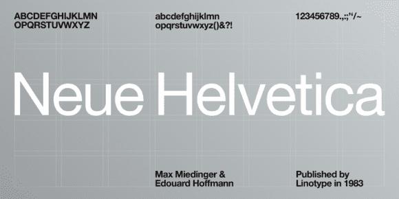 269796 580x290 - Font dňa – Neue Helvetica