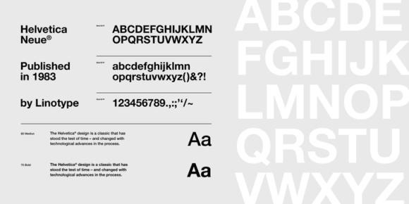269804 580x290 - Font dňa – Neue Helvetica