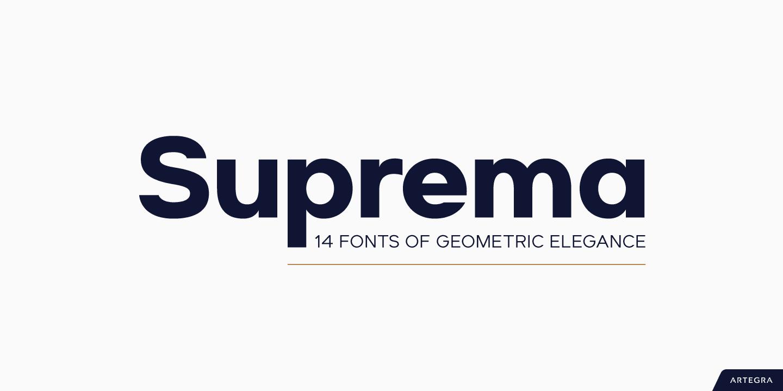 291587 - Font dňa – Suprema