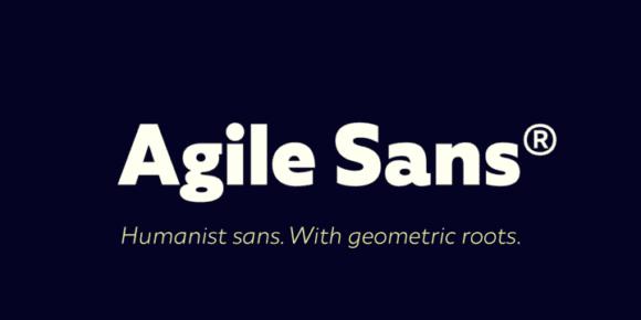 293776 580x290 - Font dňa – Agile Sans