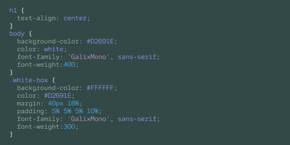 318024 580x290 - Font dňa – Galix Mono