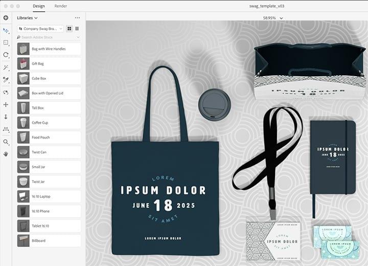 body 7 - Adobe Dimension – užitočná pomôcka pre obalový dizajn