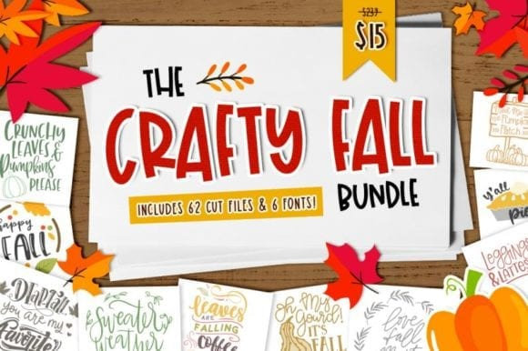 cover 11 580x386 - Stiahnite si Crafty Fall Bundle s 94% zľavou!