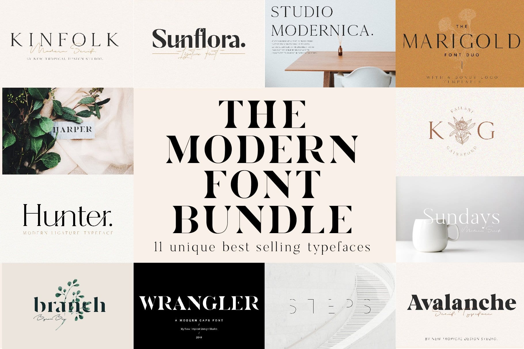 cover 16 - Stiahnite si The Modern Font Bundle za 29 dolárov!